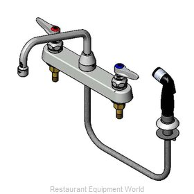 TS Brass B-1172 Faucet with Spray Hose