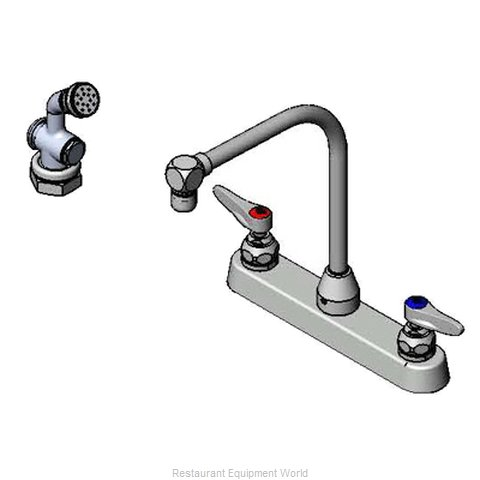 TS Brass B-1173-101-48H Faucet with Spray Hose