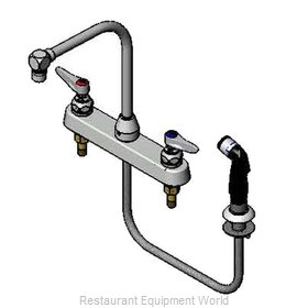 TS Brass B-1173 Faucet with Spray Hose