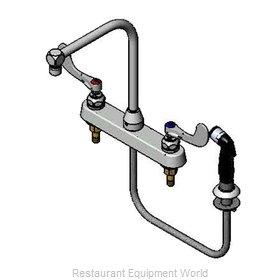 TS Brass B-1175 Faucet with Spray Hose