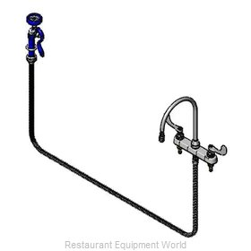 TS Brass B-1176 Faucet with Spray Hose