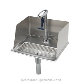TS Brass B-1235 Glass Filler Station with Drain Pan