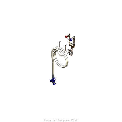 TS Brass B-1451-01 Washdown System (Magnified)