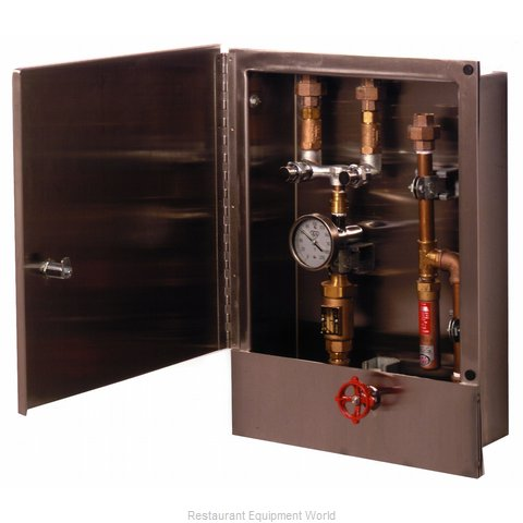 TS Brass B-2339-LR Reel Kleen Control Cabinet (Magnified)