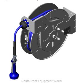 TS Brass B-7142-08M Hose Reel Assembly