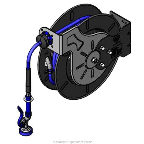 TS Brass B-7242-01 Hose Reel Assembly (Magnified)