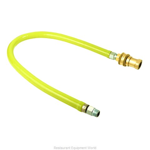 TS Brass HG-6D-36S Gas Connector Hose Assembly