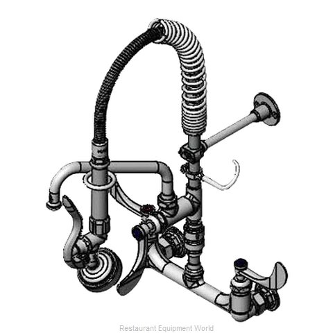 TS Brass MPX-8WWV-08-CR Pre-Rinse Faucet Assembly, Mini (Magnified)