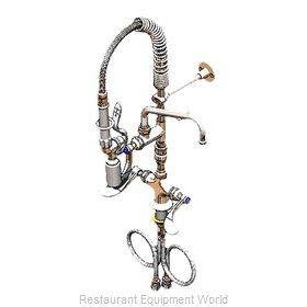 TS Brass MPY-2DWV-08-CR Pre-Rinse Faucet Assembly, Mini