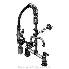 TS Brass MPY-8DLN-08 Pre-Rinse Faucet Assembly, Mini
