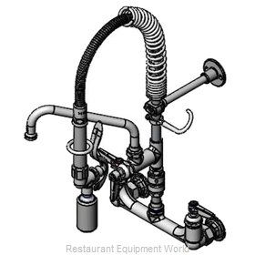 TS Brass MPY-8WLV-08-CR Pre-Rinse Faucet Assembly, Mini