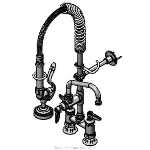 TS Brass MPZ-4DLN-06 Pre-Rinse Unit (Magnified)