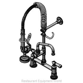 TS Brass MPZ-8DCN-08 Pre-Rinse Faucet Assembly, Mini