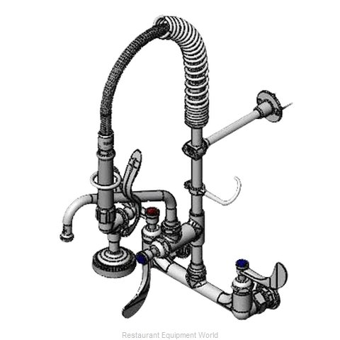 TS Brass MPZ-8WWN-08-CR Pre-Rinse Unit (Magnified)