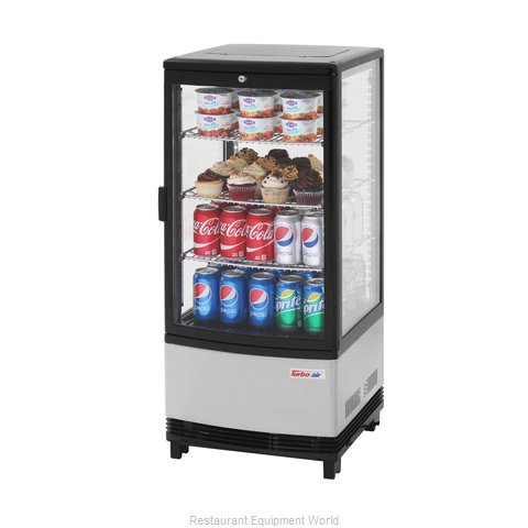 Turbo Air CRT-77-1R-N Display Case, Refrigerated, Countertop