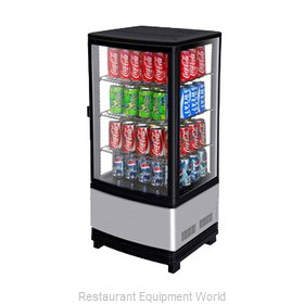 Turbo Air CRT-77-1R Display Case, Refrigerated, Countertop