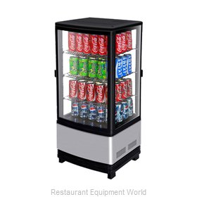 Turbo Air CRT-77-2R Display Case, Refrigerated, Countertop