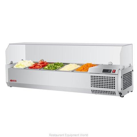 Turbo Air CTST-1200G-N Refrigerated Countertop Pan Rail