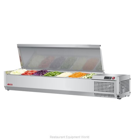 Turbo Air CTST-1500-N Refrigerated Countertop Pan Rail