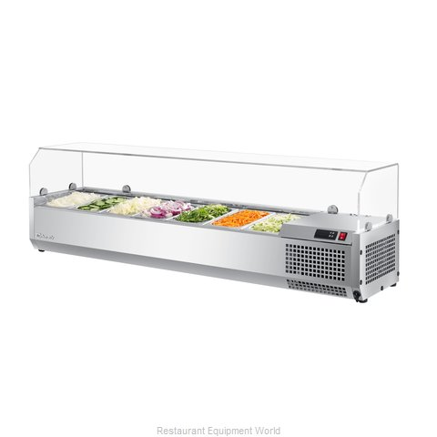 Turbo Air CTST-1500G-N Refrigerated Countertop Pan Rail