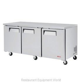 Turbo Air EUR-72-N-V Refrigerator, Undercounter, Reach-In