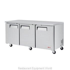 Turbo Air EUR-72-N Refrigerator, Undercounter, Reach-In