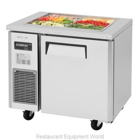 Turbo Air JBT-36-N Refrigerated Counter, Sandwich / Salad Top