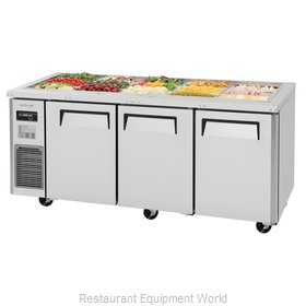 Turbo Air JBT-72-N Refrigerated Counter, Sandwich / Salad Top
