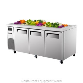 Turbo Air JBT-72 Refrigerated Counter, Sandwich / Salad Top