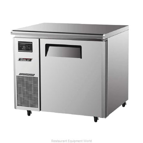 Turbo Air JUF-36 Reach-In Undercounter Freezer 1 section