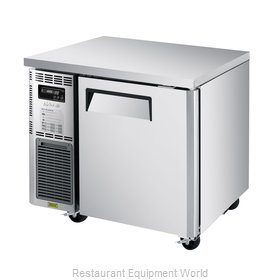 Turbo Air JUF-36S-N Freezer, Undercounter, Reach-In