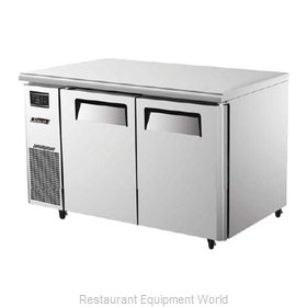 Turbo Air JUF-48 Reach-In Undercounter Freezer 2 section