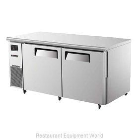 Turbo Air JUF-60 Reach-In Undercounter Freezer 2 section