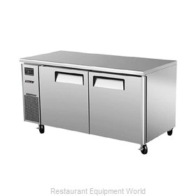 Turbo Air JUF-60N Freezer, Undercounter, Reach-In