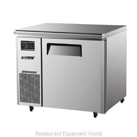 Turbo Air JUR-36 Refrigerator, Undercounter, Reach-In