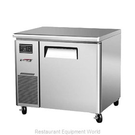 Turbo Air JUR-36N Refrigerator, Undercounter, Reach-In