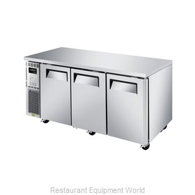 Turbo Air JUR-72S-N6 Refrigerator, Undercounter, Reach-In