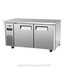Turbo Air JURF-60 Undercounter Refrigerator and Freezer