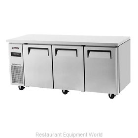 Turbo Air JURF-72 Undercounter Refrigerator and Freezer
