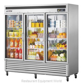 Turbo Air MSR-72G-3 Refrigerator, Merchandiser