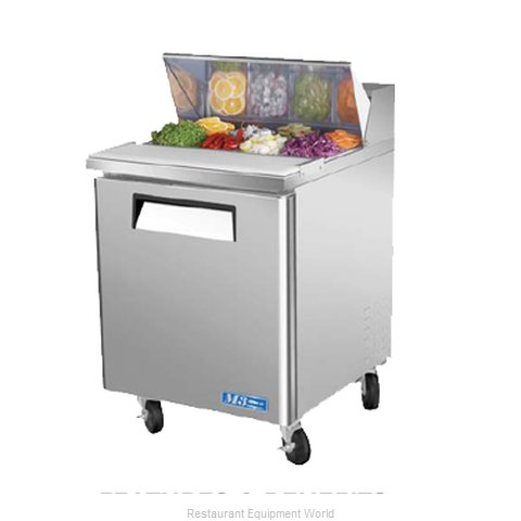 Turbo Air MST-28 Salad/Sandwich Prep Unit