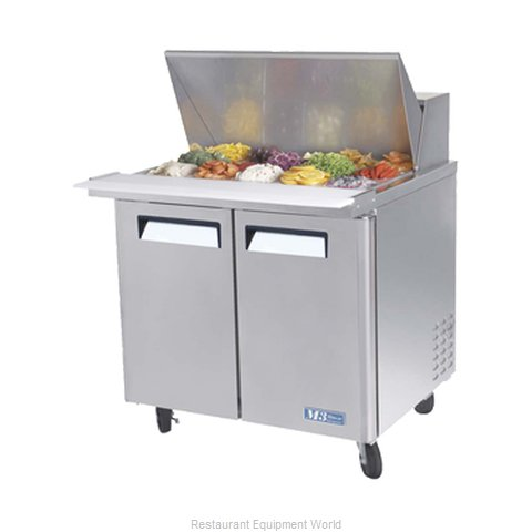 Turbo Air MST-36-15-N6 Refrigerated Counter, Mega Top Sandwich / Salad Unit