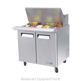 Turbo Air MST-36-15 Refrigerated Counter, Mega Top Sandwich / Salad Unit