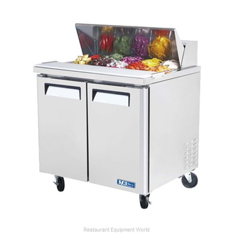 Turbo Air MST-36 Refrigerated Counter, Sandwich / Salad Top