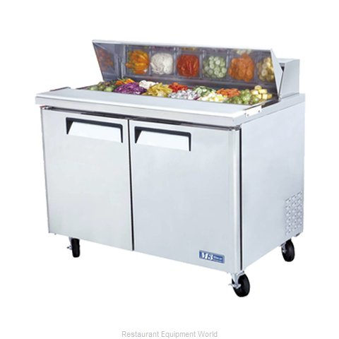 Turbo Air MST-48 Salad/Sandwich Prep Unit