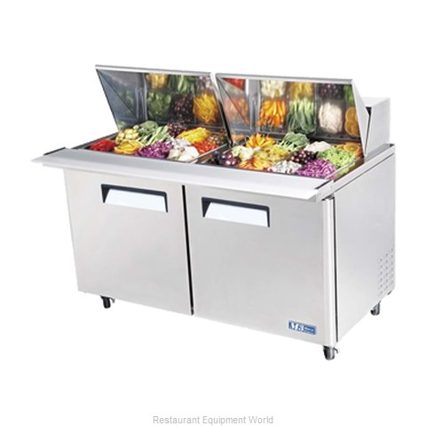 Turbo Air MST-60-24 Mega Top Sandwich Unit