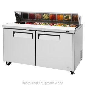 Turbo Air MST-60-N Refrigerated Counter, Sandwich / Salad Top
