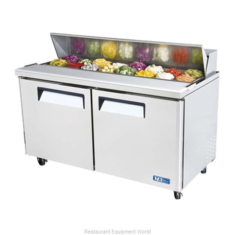Turbo Air MST-60 Refrigerated Counter, Sandwich / Salad Top