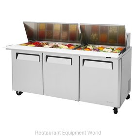 Turbo Air MST-72-30-N Refrigerated Counter, Mega Top Sandwich / Salad Unit