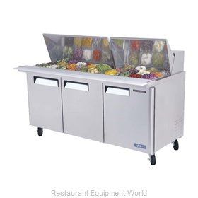 Turbo Air MST-72-30 Refrigerated Counter, Mega Top Sandwich / Salad Unit